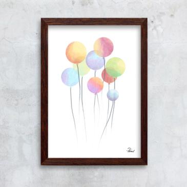 balloner hvid