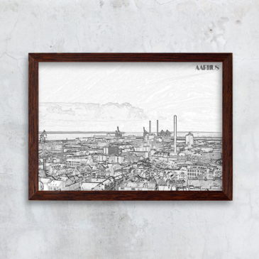 kant aarhus havn skyline