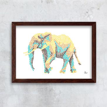 Elefant store priller